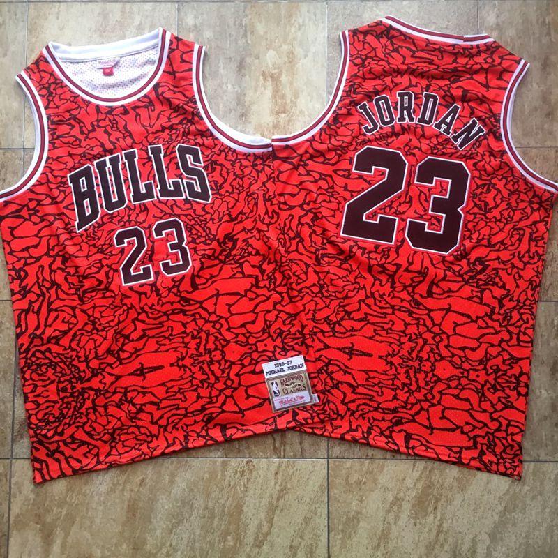 Bulls 23 Michael Jordan Black 1996-97 Hardwood Classics Jersey