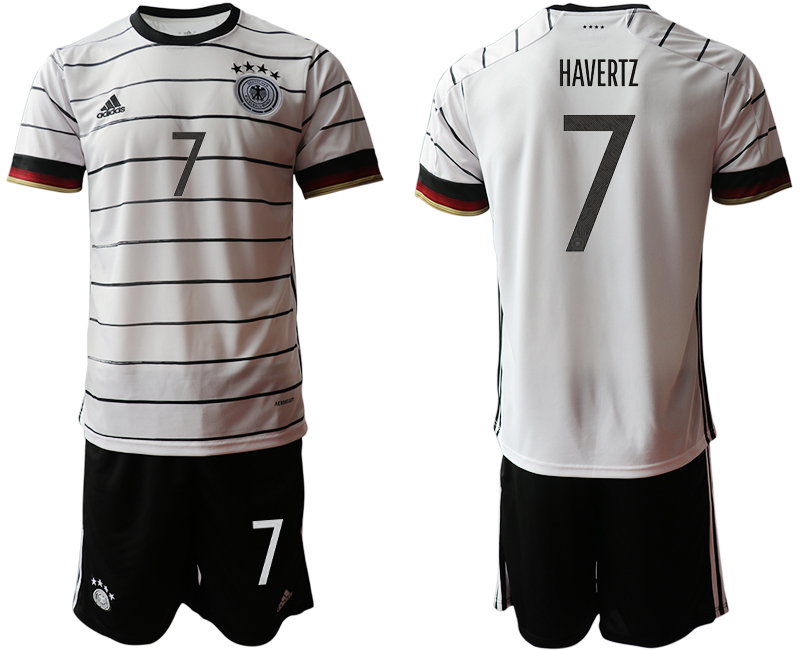 Germany 7 HAVERTZ Home UEFA Euro 2020 Soccer Jersey