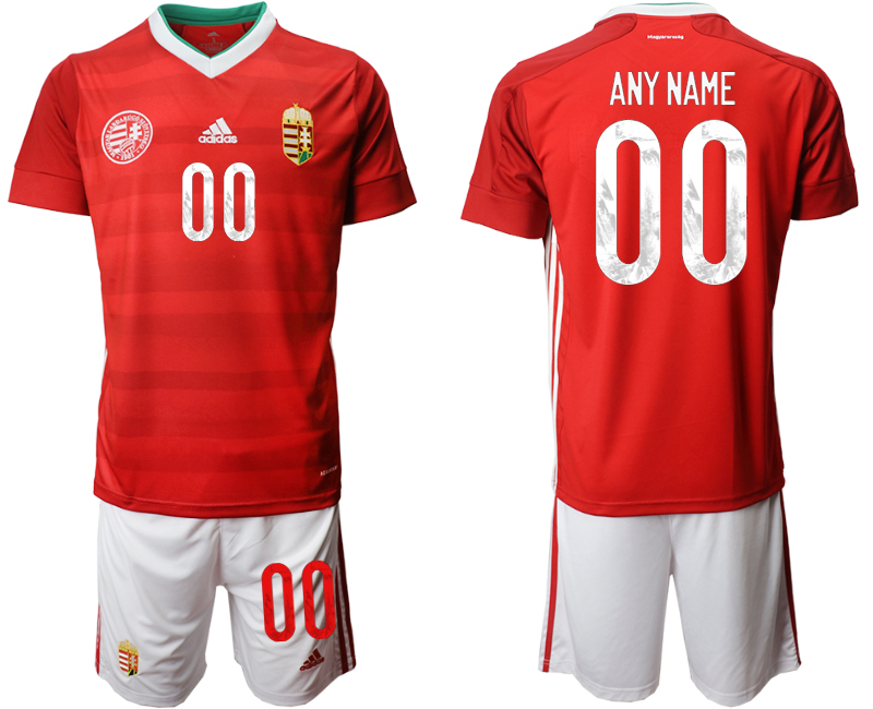 Hungary Customized Home UEFA Euro 2020 Soccer Jersey