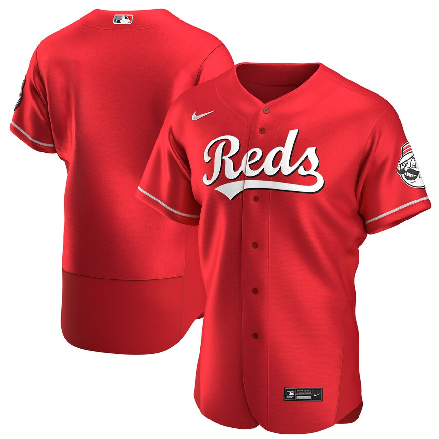 Reds Blank Red Blue 2020 Flexbase Jersey