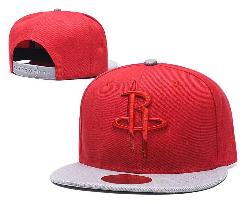 Rockets Team Logo Red Adjustable Hat LH