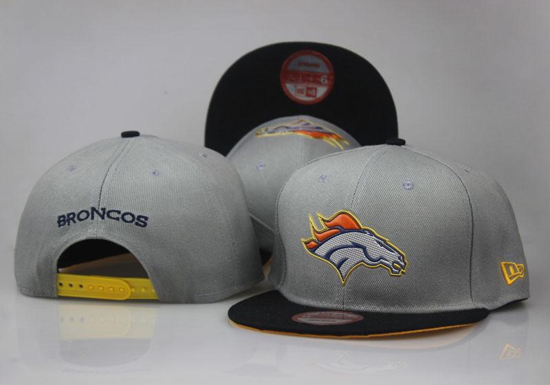 Broncos Navy Orange Black Adjustable Hat LT