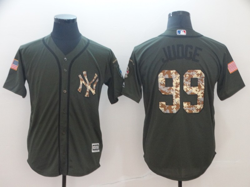 Yankees 99 Aaron Judge Olive Green Cool Base Jersey