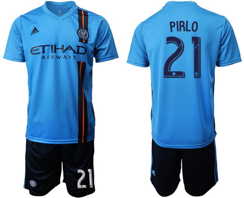 2019-20 New York City FC 21 PIRLO Home Soccer Jersey