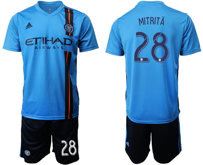 2019-20 New York City FC 28 MITRITA Home Soccer Jersey
