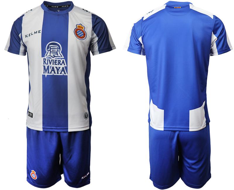 2019-20 RCD Espanyol Home Soccer Jersey