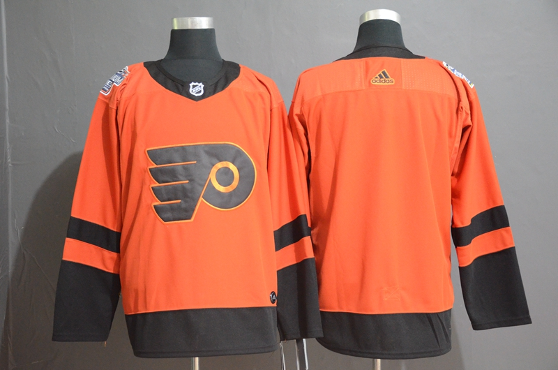 Flyers Orange 2019 NHL Stadium Series Adidas Jersey