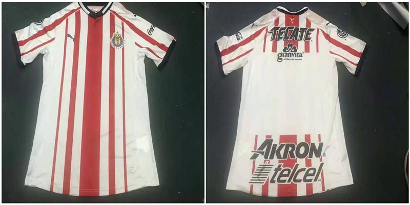 2019-20 Chivas Home Thailand Soccer Jersey