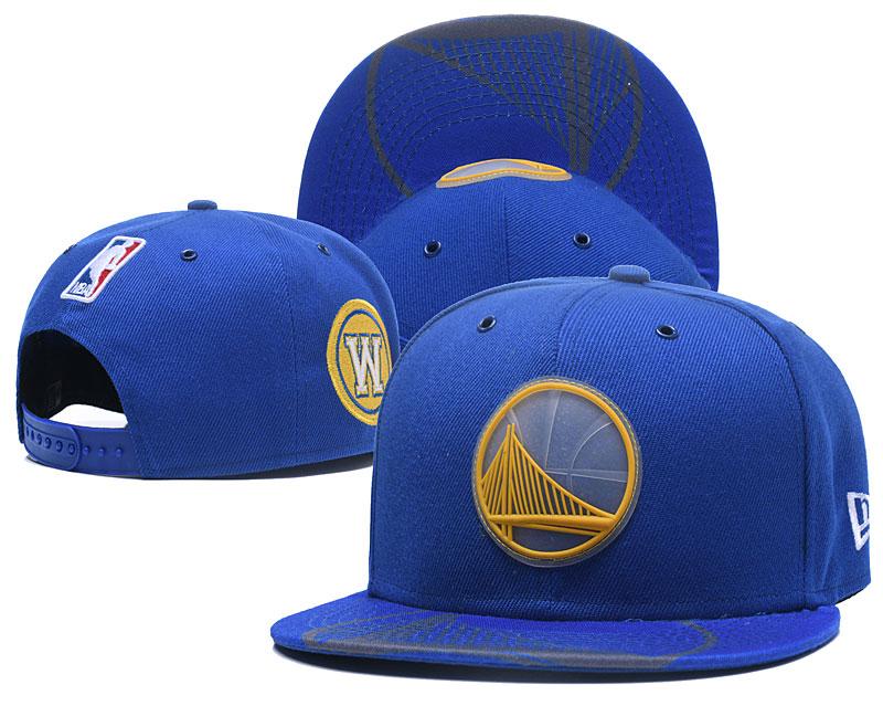 Lakers Fresh Logo Blue Adjustable Hat GS