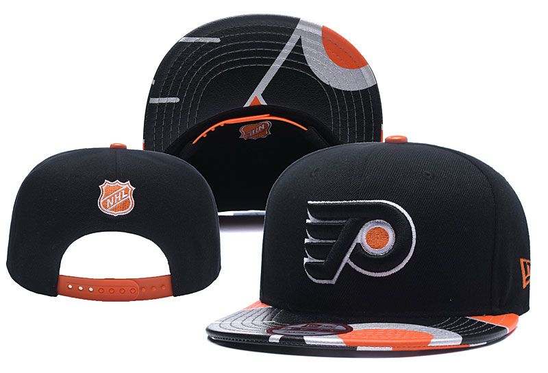 Flyers Team Logo Black Adjustable Hat YD