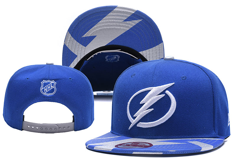 Lightning Team Logo Blue Adjustable Hat YD