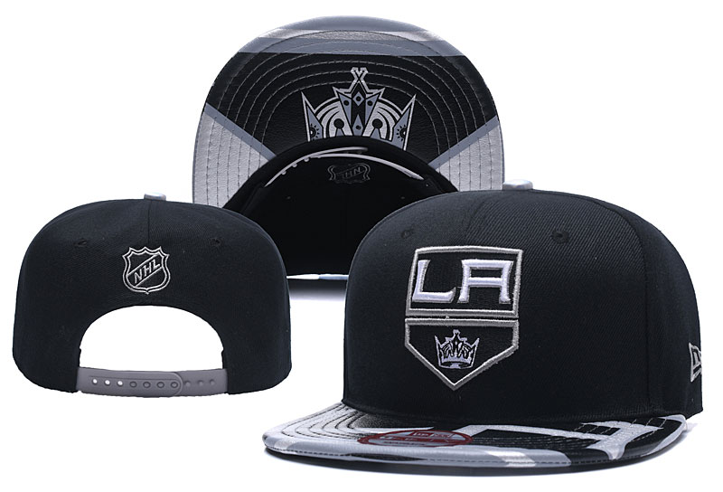 Los Angeles Kings Fresh Logo Black Adjustable Hat YD