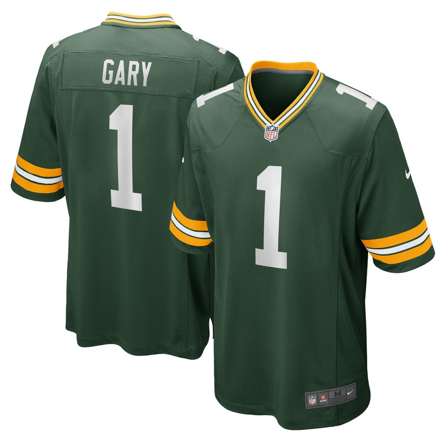 Nike Packers 1 Rashan Gary Green 2019 NFL Draft First Round Pick Vapor Untouchable Limited Jersey