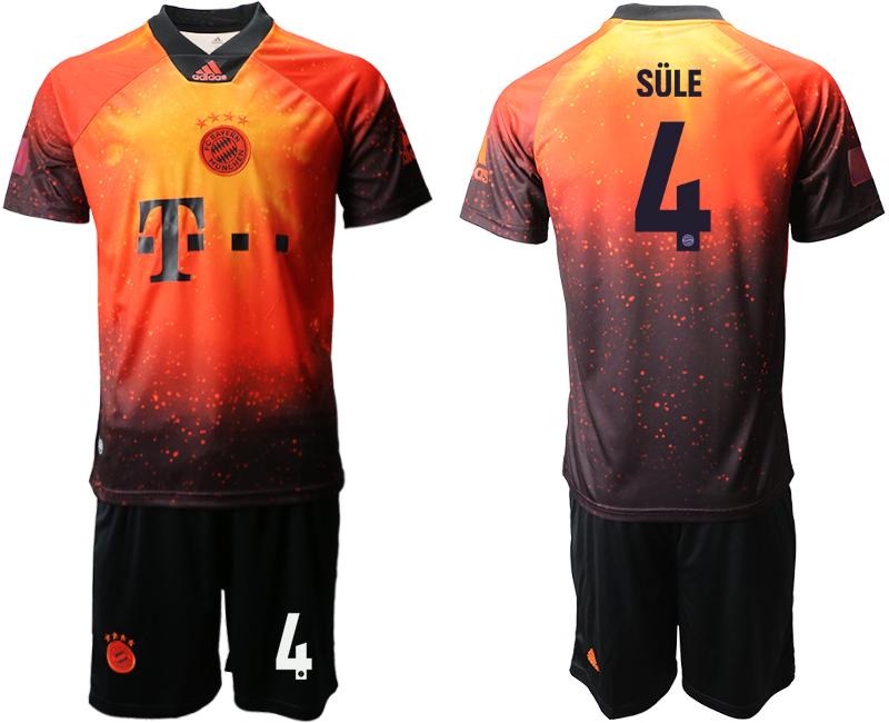 2018-19 Bayern Munich 4 SULE FIFA Digital Kit Soccer Jersey