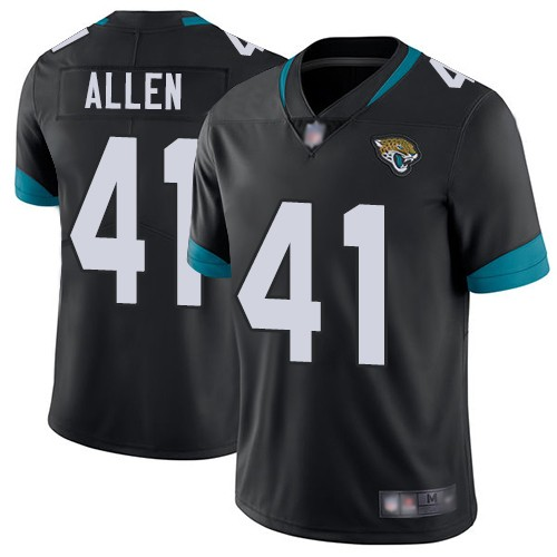Nike Jaguars 41 Josh Allen Black 2019 NFL Draft First Round Pick Vapor Untouchable Limited Jersey