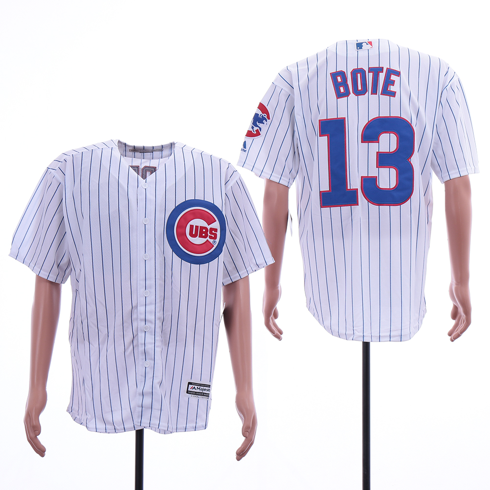 Cubs 13 Starlin Castro White Cool Base Jersey