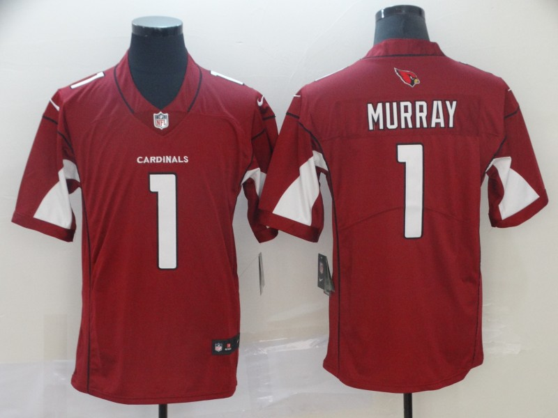 Nike Cardinals 1 Kyler Murray Red 2019 NFL Draft First Round Pick Vapor Untouchable Limited Jersey