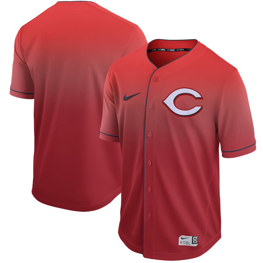 Reds Blank Red Drift Fashion Jersey