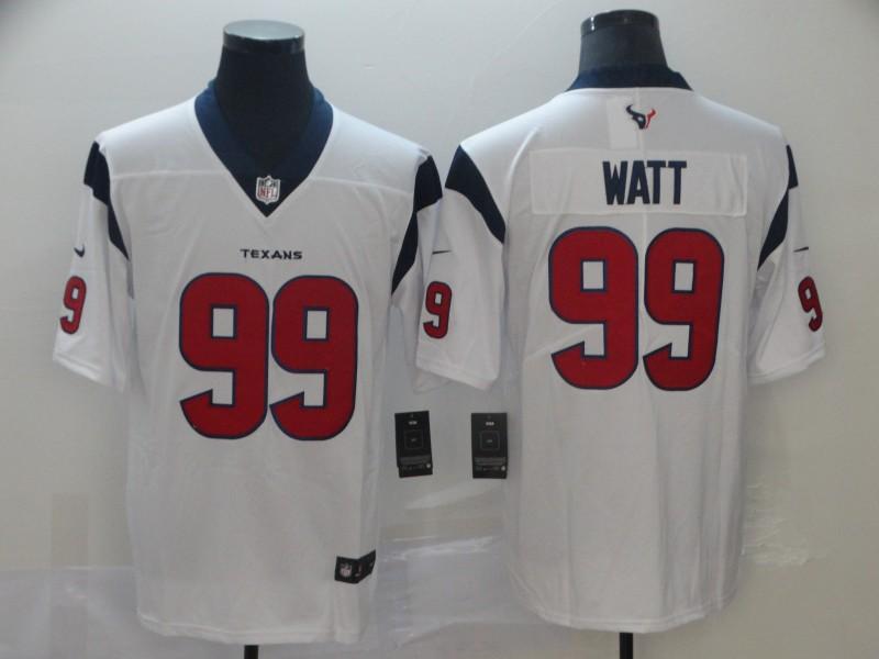 Nike Texans 99 J.J. Watt White New 2019 Vapor Untouchable Limited Jersey