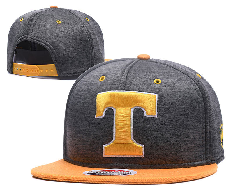 Tennessee Volunteers Team Logo Gray Yellow Adjustable Hat GS