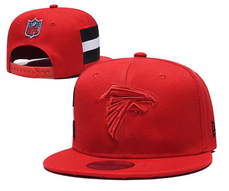 Falcons Team Logo Red Adjustable Hat LT