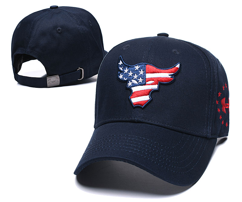 Texans Team Logo Navy Peaked Adjustable Hat TX