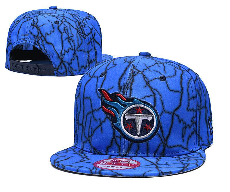Titans Team Logo Blue Adjustable Hat TX