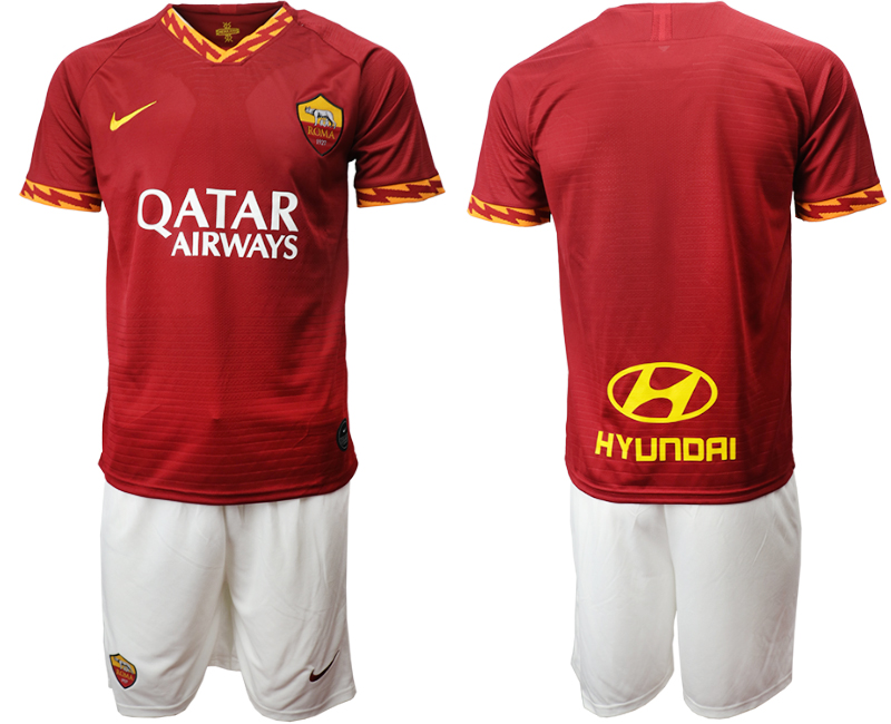 2019-20 Roma Home Soccer Jersey