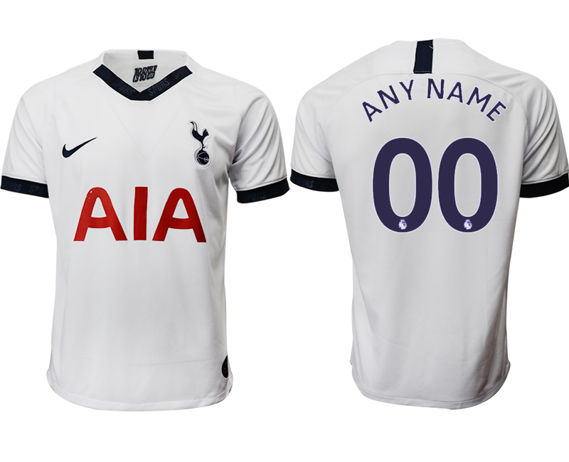 2019-20 Tottenham Hotspur Customized Home Thailand Soccer Jersey