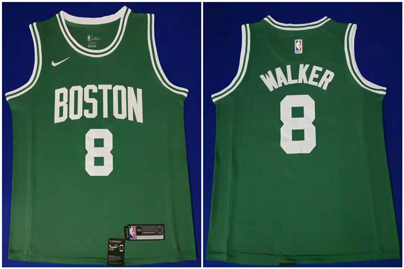 Celtics 8 Kemba Walker Green Swingman Jersey