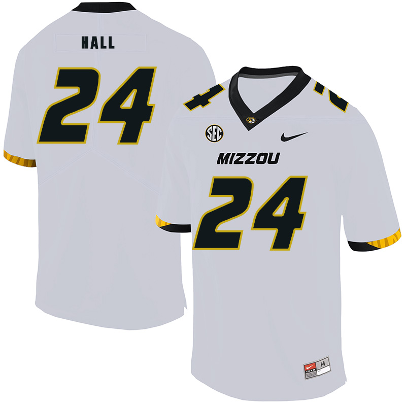 Missouri Tigers 24 Terez Hall White Nike College Football Jersey