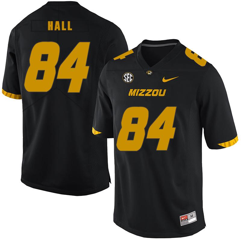 Missouri Tigers 84 Emanuel Hall Black Nike College Football Jersey