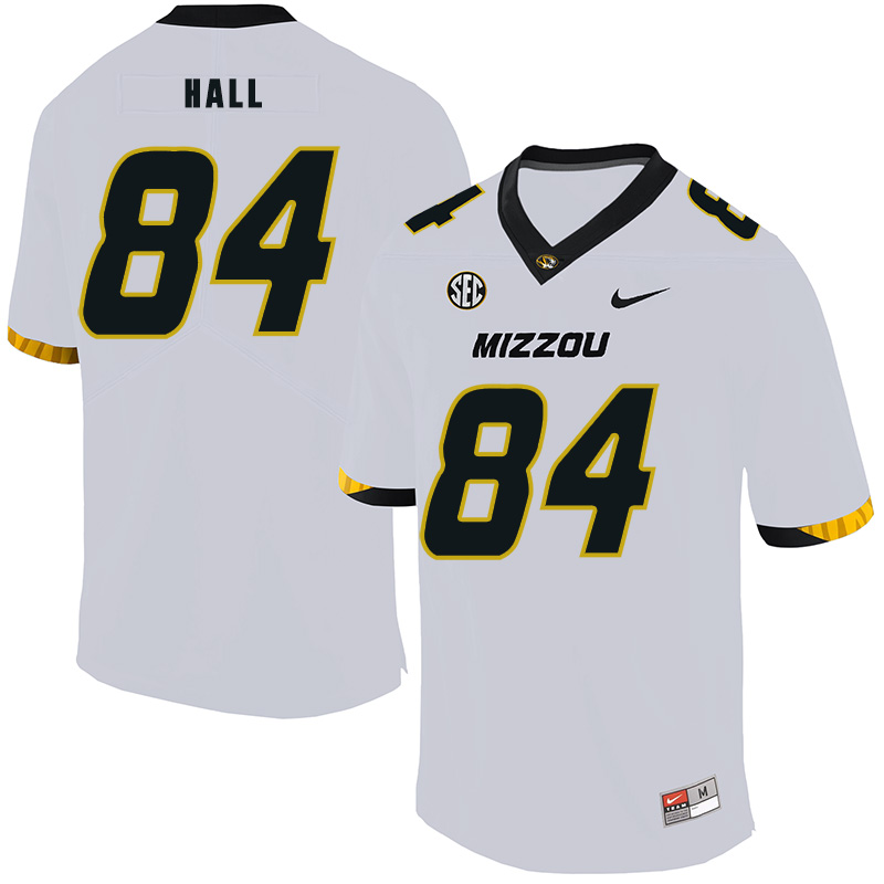 Missouri Tigers 84 Emanuel Hall White Nike College Football Jersey
