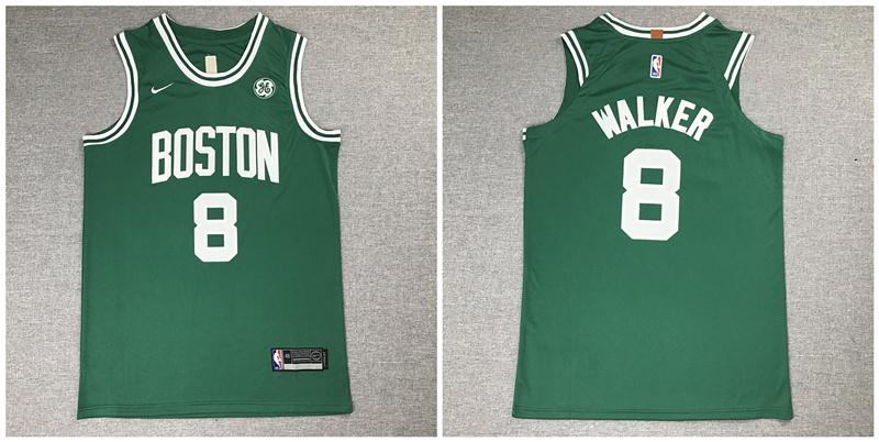 Celtics 8 Kemba Walker Green Nike Authentic Jersey