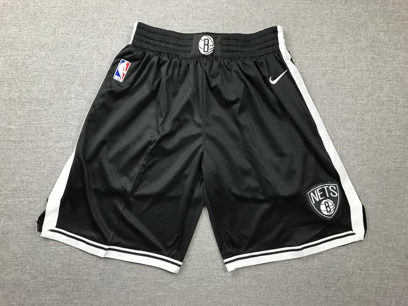 Nets Black Nike Swingman Shorts