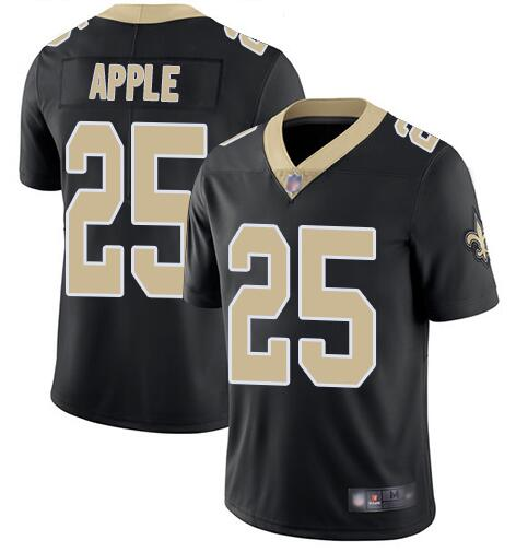 Nike Saints 25 Eli Apple Black Vapor Untouchable Limited Jesey