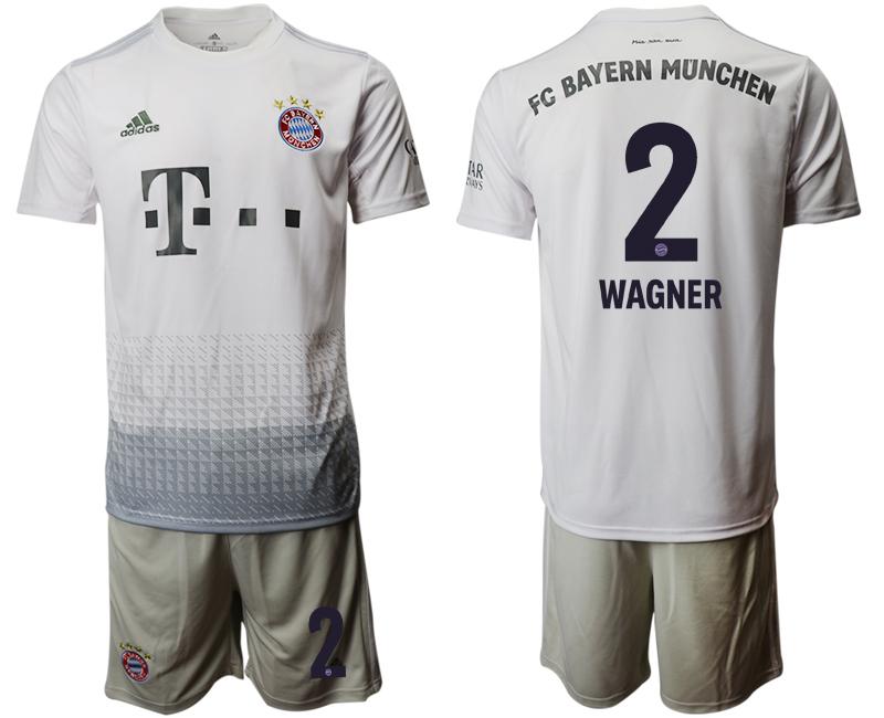 2019-20 Bayern Munich 2 WAGNER Away Soccer Jersey