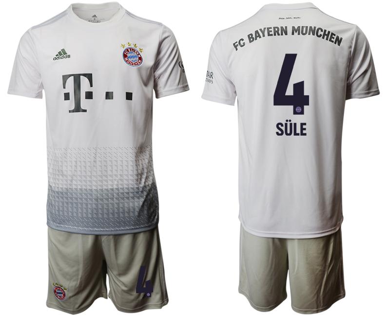 2019-20 Bayern Munich 4 SULE Away Soccer Jersey