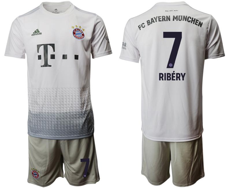 2019-20 Bayern Munich 7 RIBERY Away Soccer Jersey