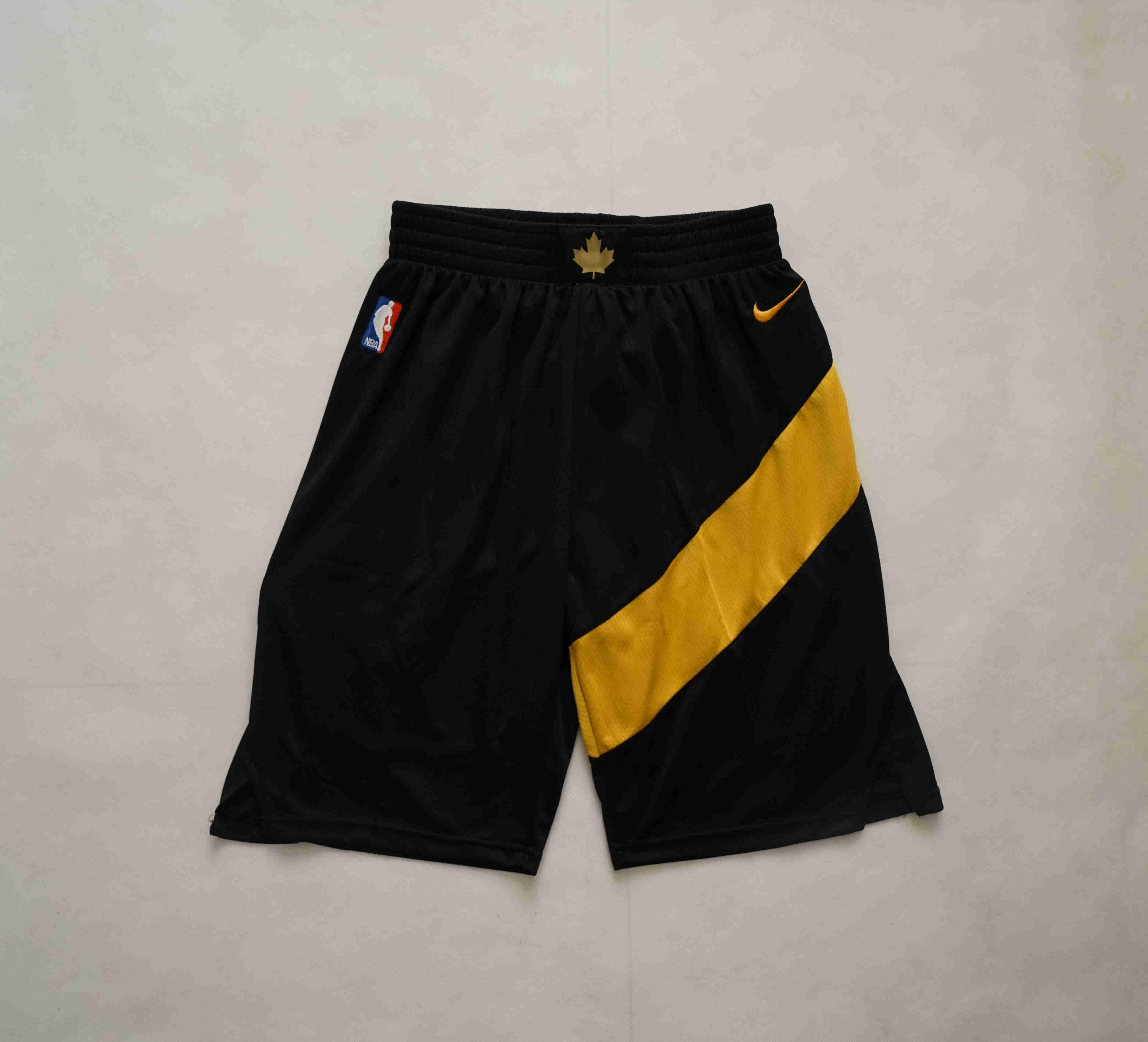 Raptors Black City Edition Shorts