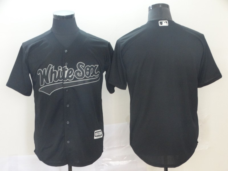 White Sox Blank Black 2019 Players' Weekend Authentic Player Jersey
