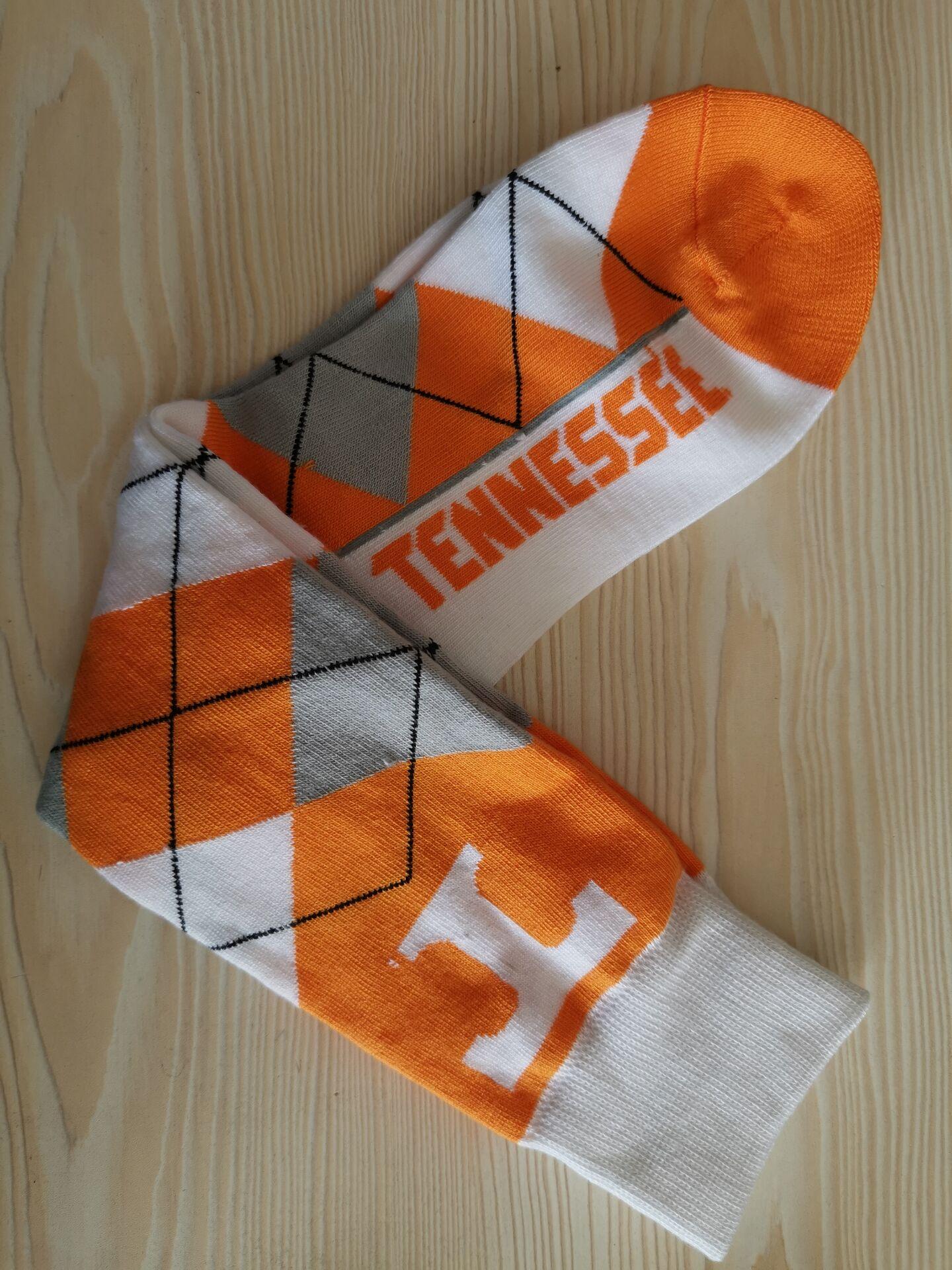 Tennessee Volunteers Team Logo NCAA Socks