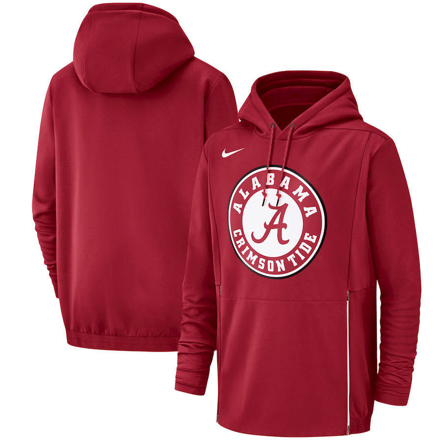 Alabama Crimson Tide Nike Champ Drive Performance Pullover Hoodie Crimson