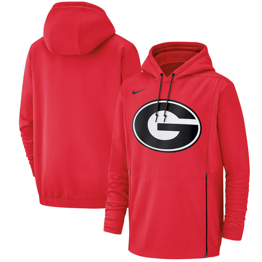 Georgia Bulldogs Nike Champ Drive Performance Pullover Hoodie Red