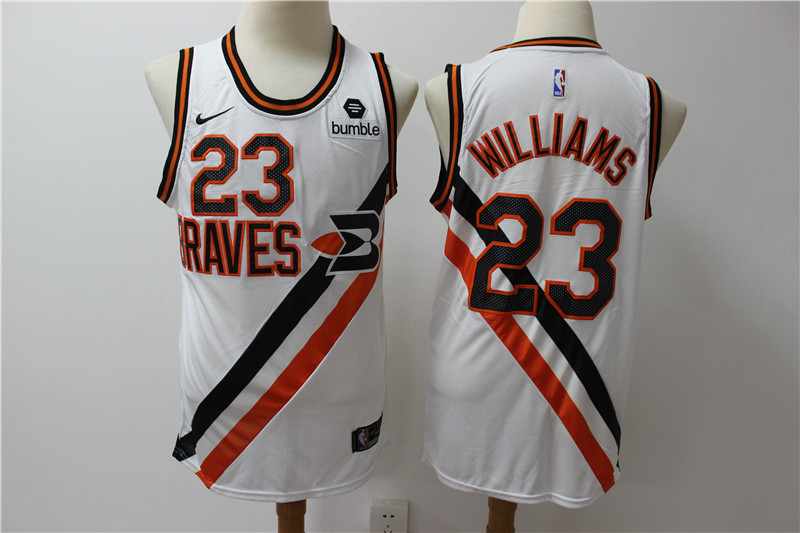 Clippers 23 Lou Williams White Nike Swingman Jersey