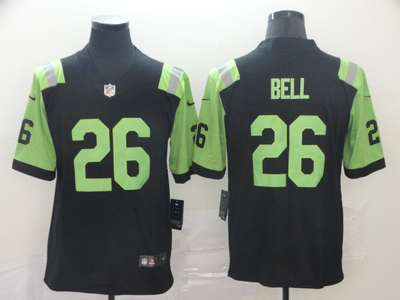 Nike Jets 26 Le'Veon Bell Black City Edition Vapor Untouchable Limited Jersey