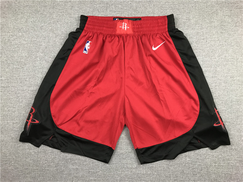 Rockets Red Nike Swingman Shorts
