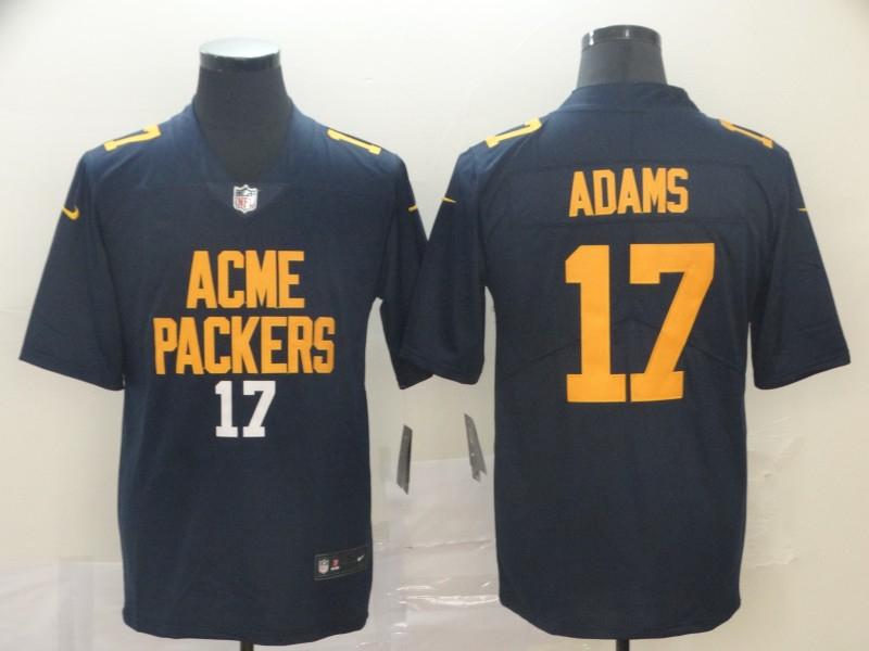 Nike Packers 17 Davante Adams Navy City Edition Vapor Untouchable Limited Jersey