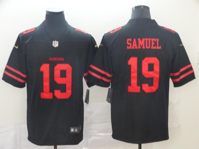 Nike 49ers 19 Deebo Samuel Black Vapor Untouchable Limited Jesey