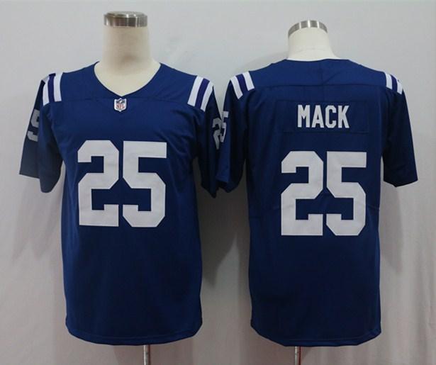 Nike Colts 25 Marlon Mack Royal Vapor Untouchable Limited Jersey